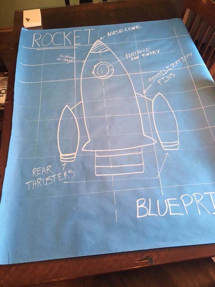 How to make blueprints for under 1 maker fun factory vbs the paper is super cheap per foot and one marker should last for the whole project and beyond i love projects like this where you can literally make malvernweather