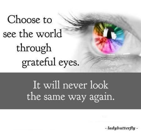See the World through graateful eyes