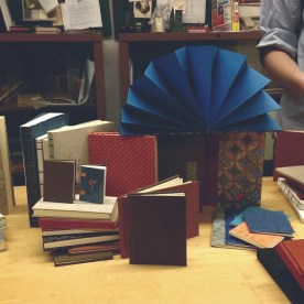 all the books I made over the semester