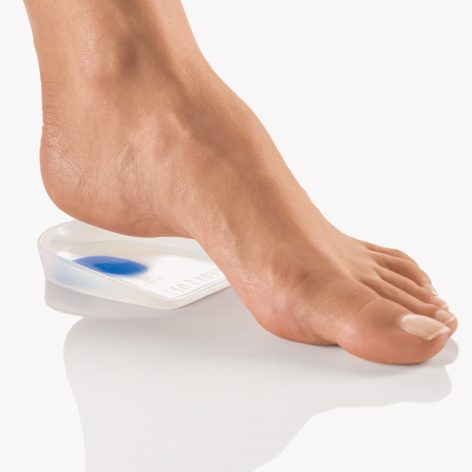 PediSoft® Silicone Heel Cup Cushion with SoftSpot 1 Pair-0