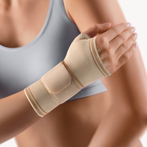 BORT Wrist Support with Thumb Opening -0