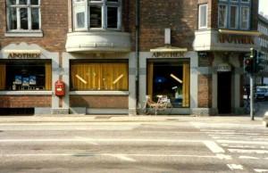 Arkiv apoteket Borups Allé 1, Nørrebro