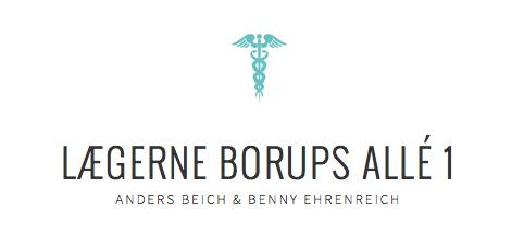 Logo og navnetræk til lægernes hjemmeside