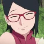 【BORUTO】やっぱり、赤いフレームの眼鏡が似合うよなサラダは
