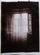 Albumen print from collodion negative, a ghost window.