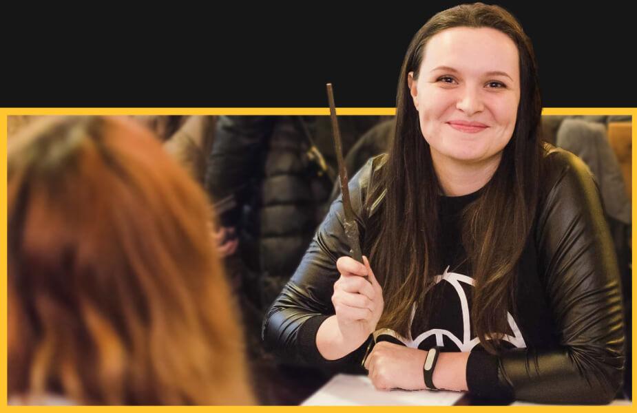 Катерина Базарова. Дизайнерка видавництва Боривітер