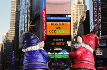 Garden Gnomes unlocks kickstarter