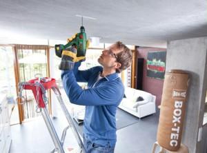 bohrhamer Bosch Uneo decke bohren sicherheit
