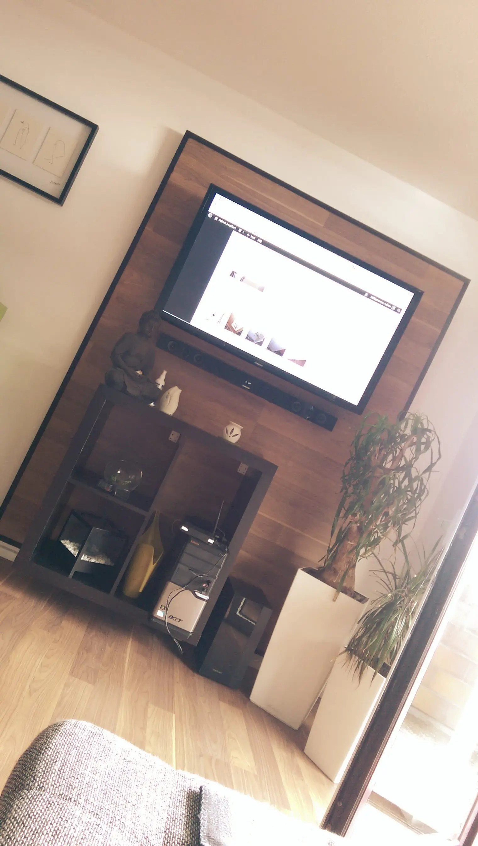 Tv In Wand Renovation Tip - A Small Tv Wall Build Yourself | Boschert-consulting.com The Blog About It, Technology And More