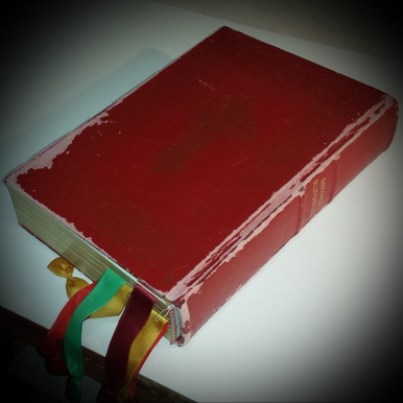 Missale Romanum - Einband stark beschädigt