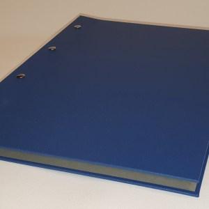Mappe blau