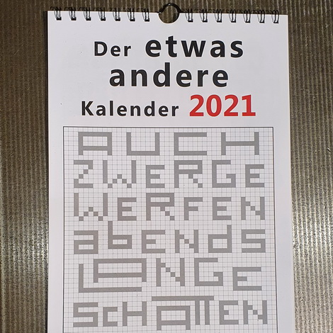 Der etwas andere Kalender 2021
