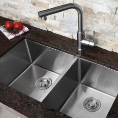 Sinks Kitchen Bridge Faucets Bosco