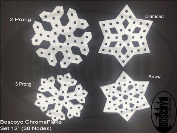 """ChromaFlakes 12"""" (set)"""