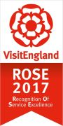Visit England Rose Awards for Excellent Customer Service