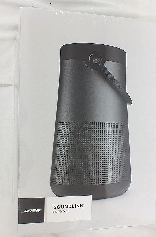 BOSE SOUNDLINK REVOLVE+ Bluetooth Speaker ブラック 未開封未使用品 買取 ...