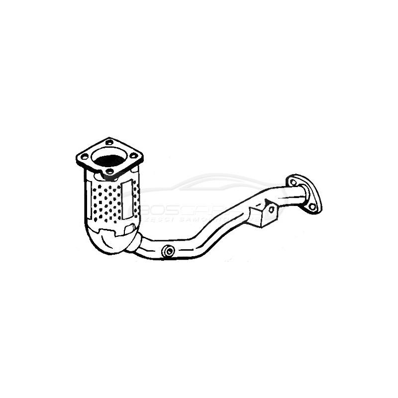 Katalizator Bosal 090-133 CITROEN C2 C3 1.1 2004-2010
