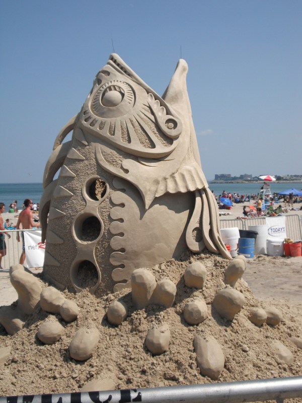 National Sand Sculpting Festival Revere Beach Weekend