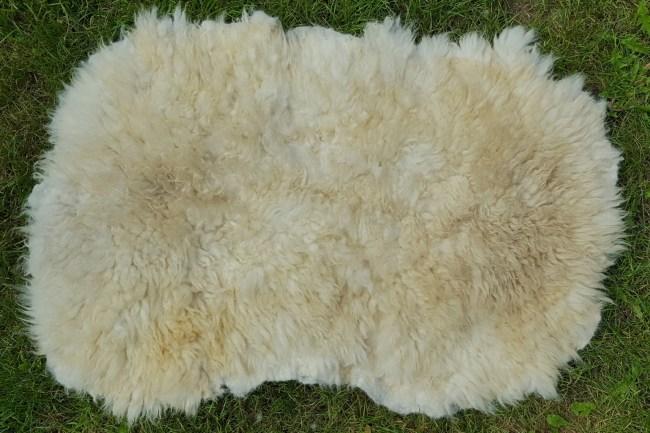 Goudsbloem gevilte schapenvacht 454