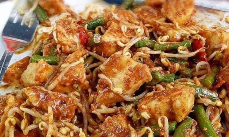 Oleh oleh Makanan Khas Bali Halal dari Sayuran yang enak Tipat Cantok