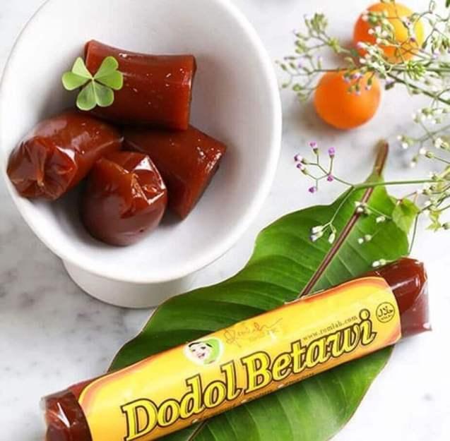 Makanan Khas Betawi dan Jawa Kue Dodol