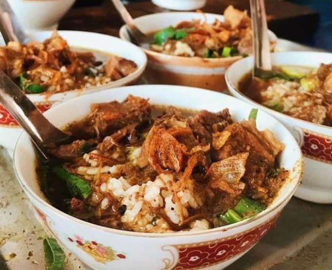 Nama Makanan Khas Jawa Tengah dan Penjelasannya Nasi Grombyang