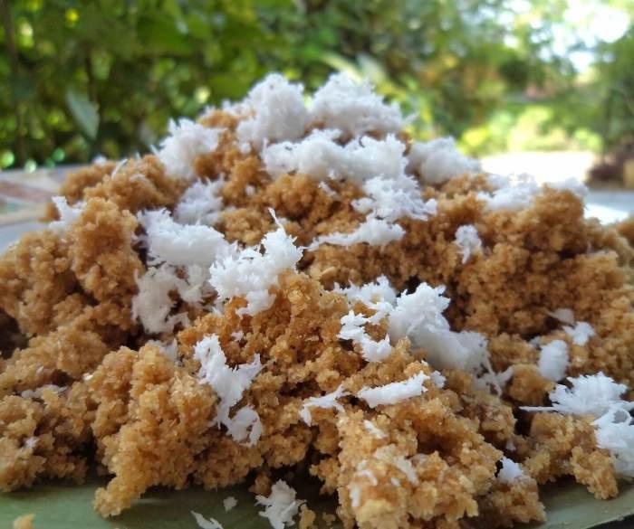 Makanan Khas Jogja Nasi Tiwul