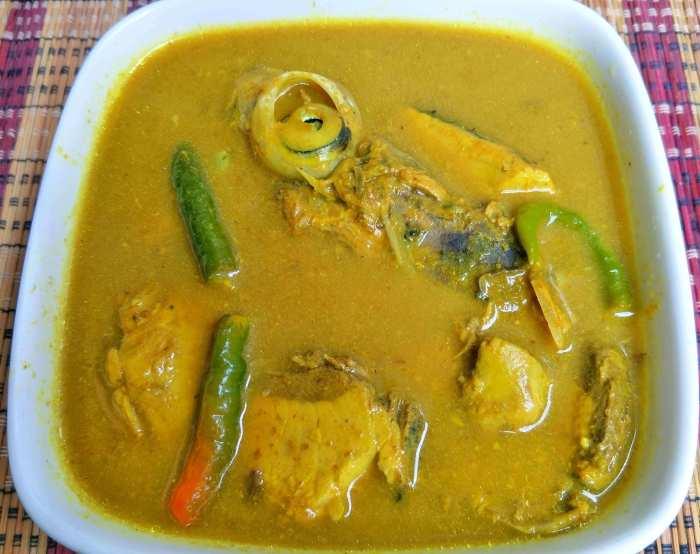 Makanan Khas Aceh Kuah Masam Keu eung