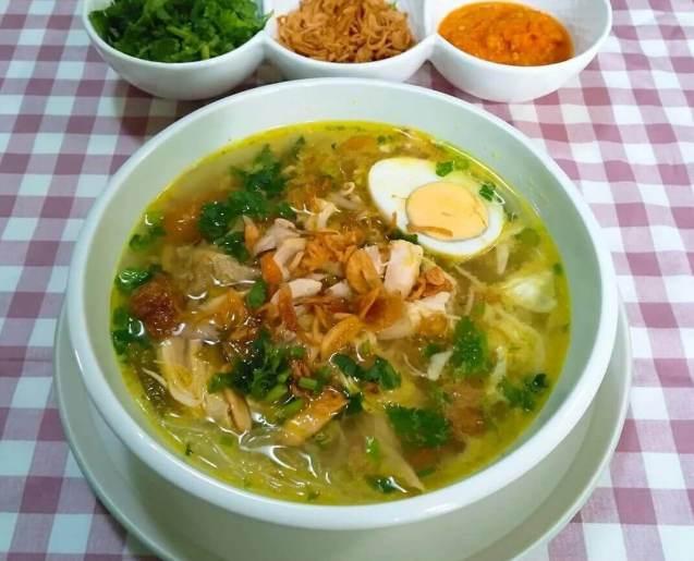 Makanan Khas Kebumen Soto Petanahan