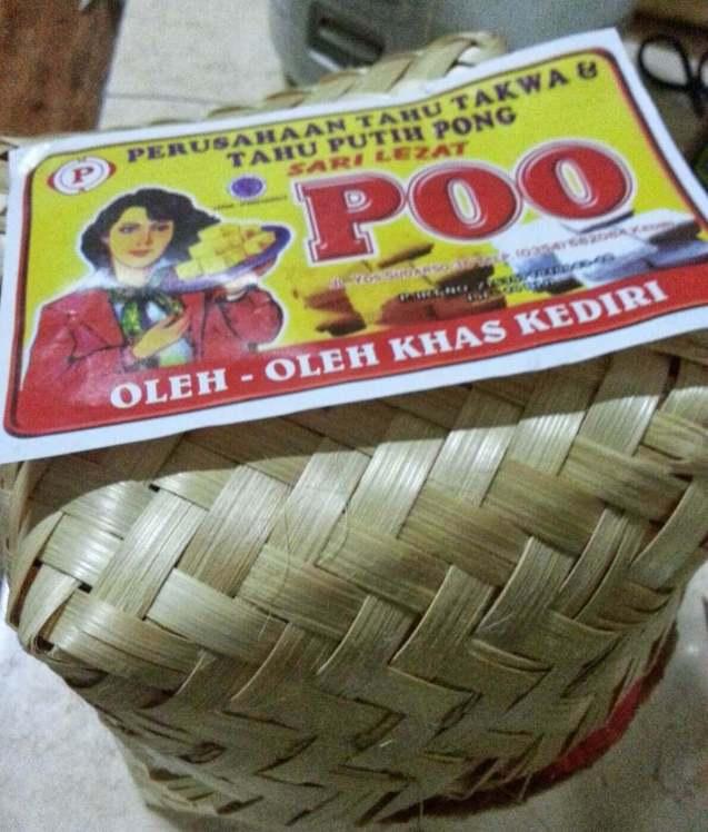 Makanan Khas Kediri Tahu Poo
