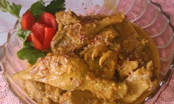 Makanan Khas Magelang Opor Entok