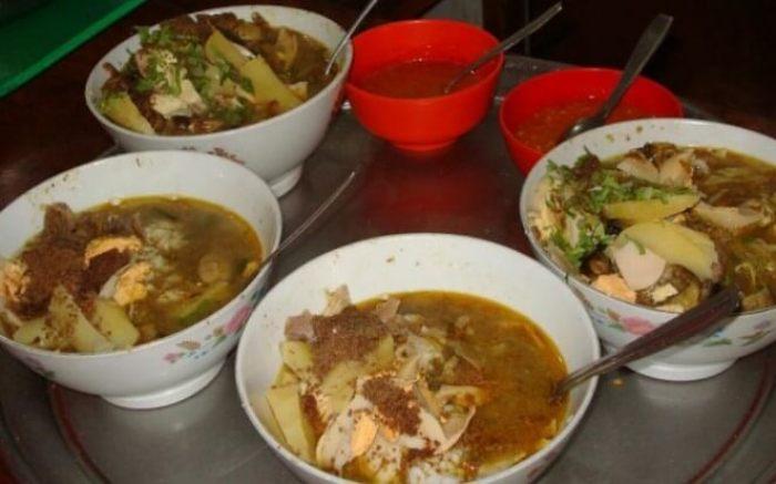 Makanan Khas Malang Batu Soto Ayam Lombok