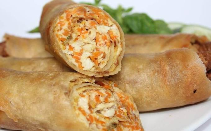 Makanan Khas Purwokerto Lumpia Boom