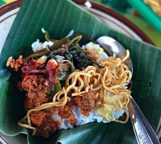 Makanan Khas Tegal Nasi Ponggol