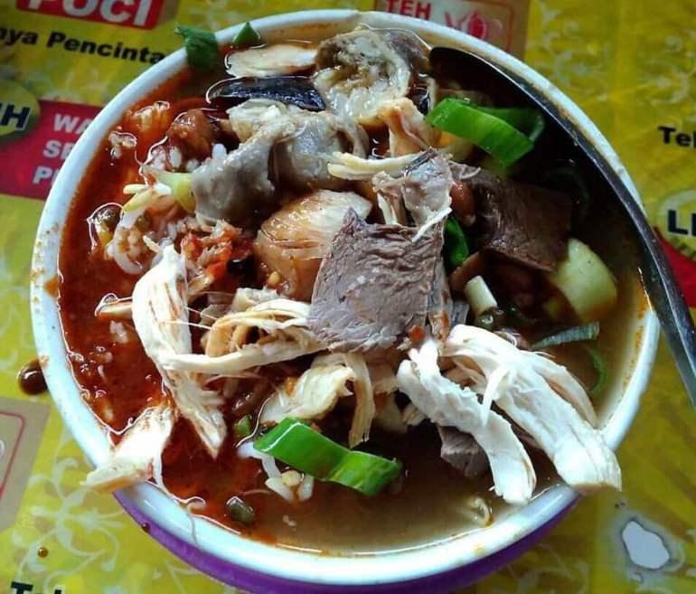 Makanan Khas Tegal Soto Tauco