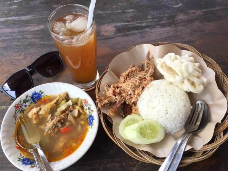 Makanan Khas Banyuwangi Uyah Asem Pitik