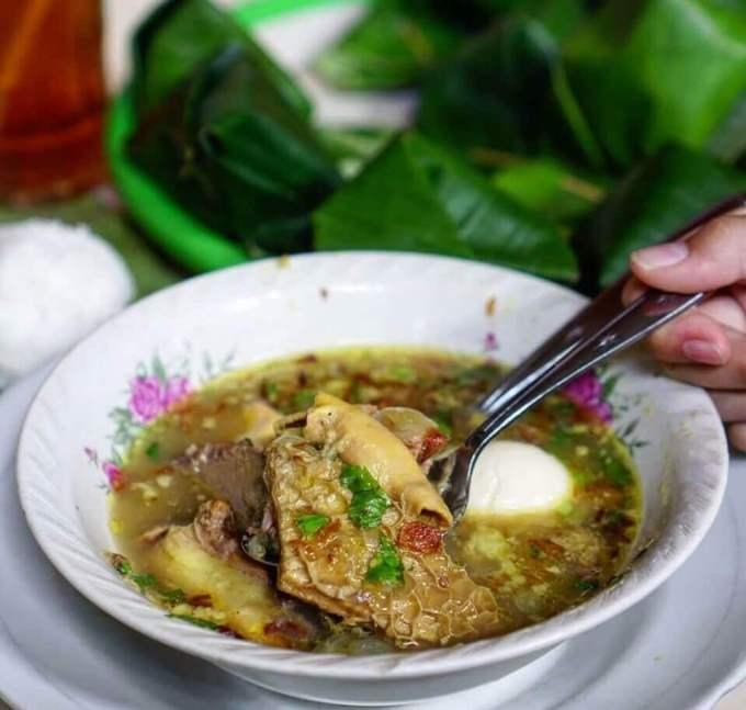 Makanan Khas Madura Soto Tapak Siring