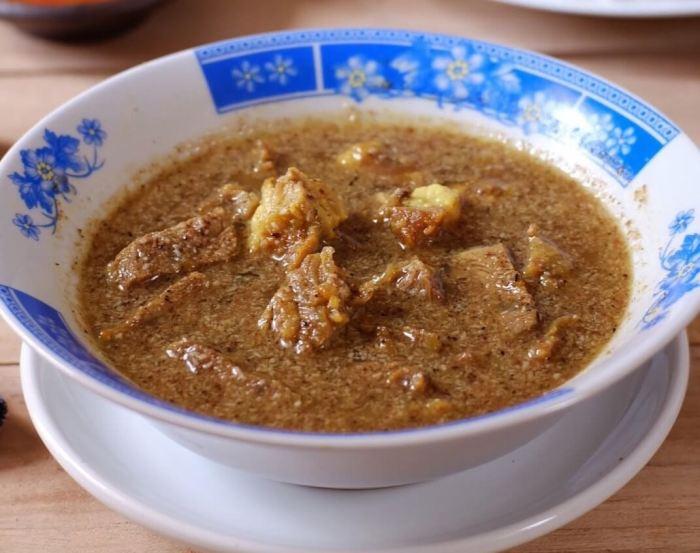 Makanan Khas Makassar Pallu Basa