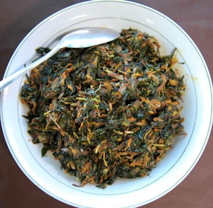 Makanan Khas Maluku Utara Sayur Garu