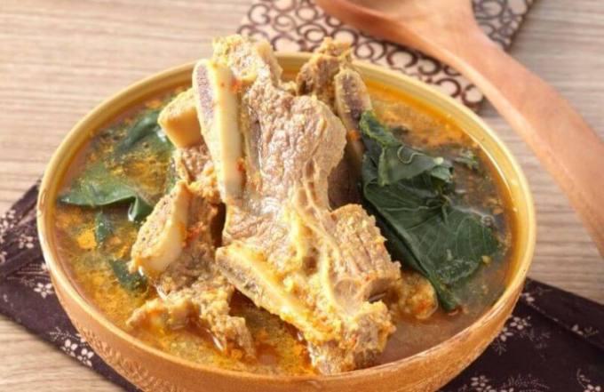 Makanan Khas Bengkulu Gulai Kembaang - Bosmeal.com