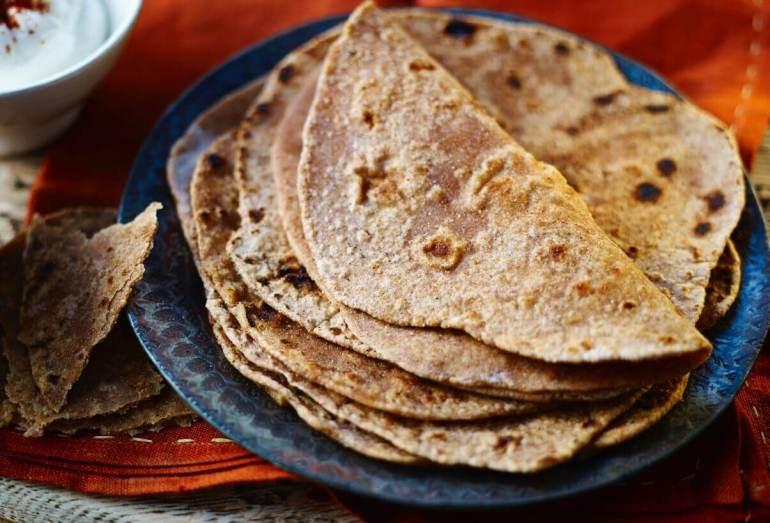 Makanan Khas India Chapati