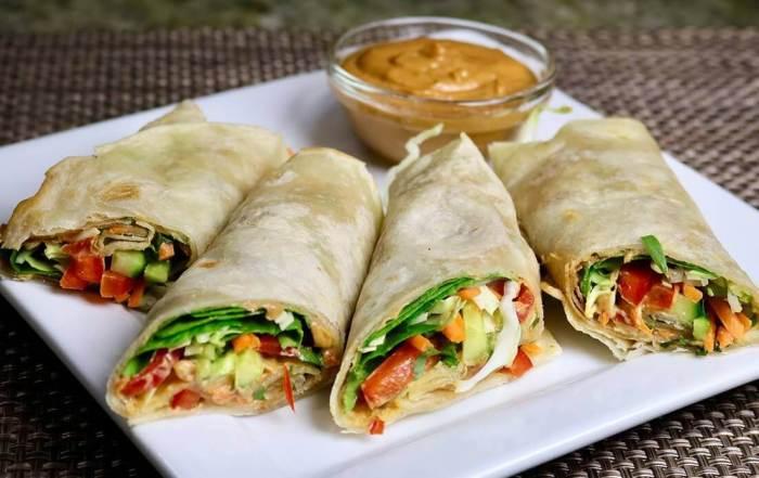 Makanan Khas India Kathi Roll