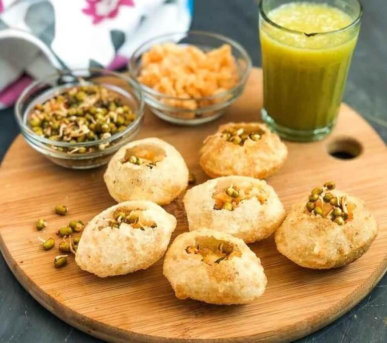 Makanan Khas India Pani Puri