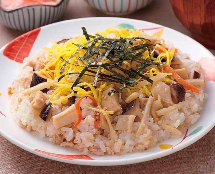 Makanan Khas Jepang Chirashizushi