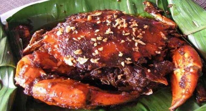 Makanan Khas Kalimantan Timur Pepes Kepiting