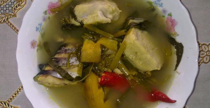 Makanan Khas Kalimantan Timur Sayur Asam Kutai
