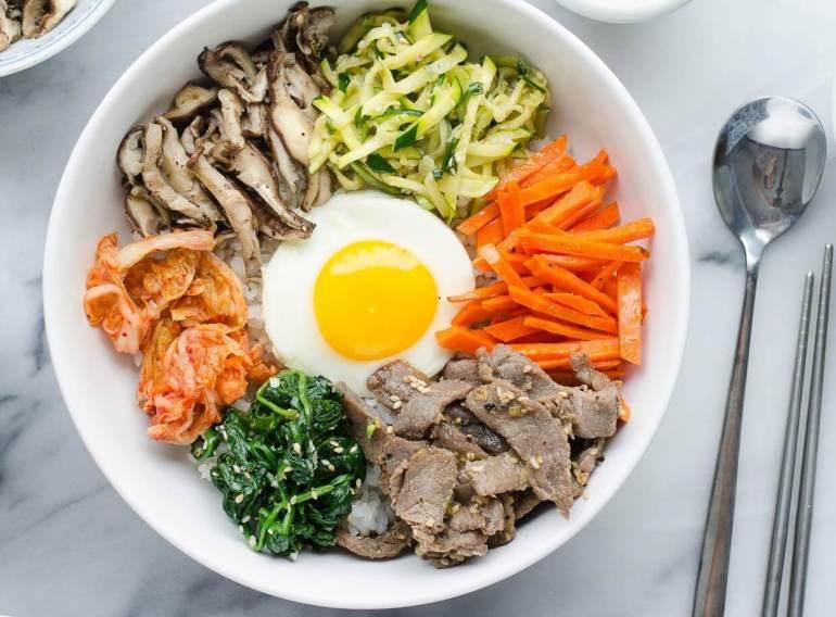 Makanan Khas Korea Bibimbap
