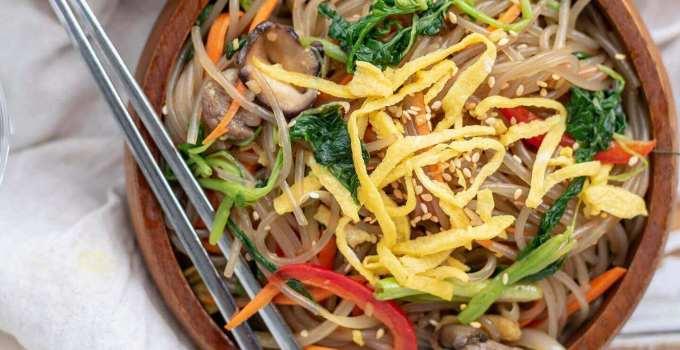 Makanan Khas Korea Chapchae