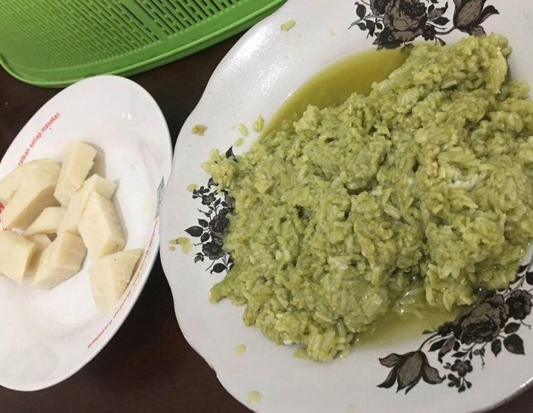 Makanan Khas Lombok Poteng Jaje Tujak