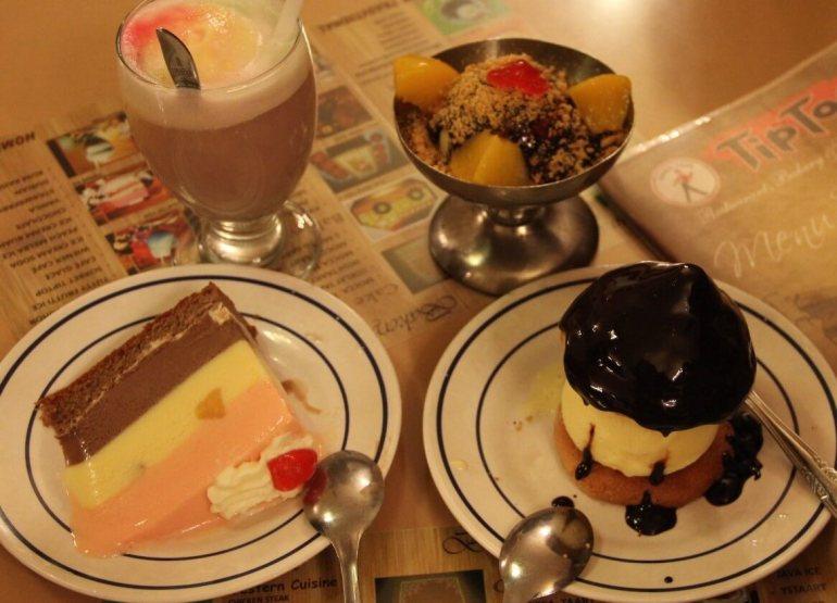 Makanan Khas Medan Es Krim Tip Top